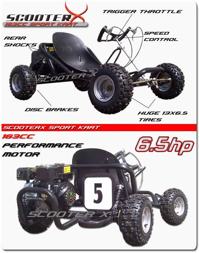 diamgram kart sport scooterx 196cc sport go kart on or offroad use go kart diagram at alyssarenee.co